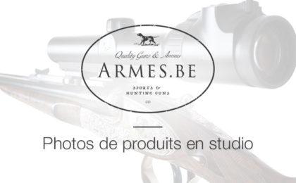 Photos produits pour la société Armes.be