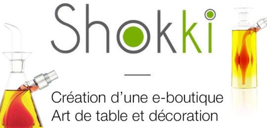 Shokki – E-commerce sur l'art de table et de la décoration